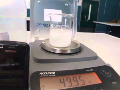 Calcium Carbonate Rate Of Reaction Concentration.mp4