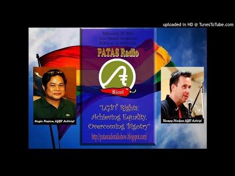 18th Broadcast - PATAS Radio - LGBT Rights - February 28, 2016