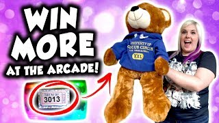 How to WIN MORE TICKETS at the arcade!