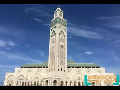 Morocco Luxury Travel - Wonderful Places To See - The Hassan II Mosque - Casablanca Morocco