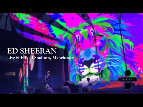 Ed Sheeran Live at Etihad Stadium, Manchester (FULL SHOW)