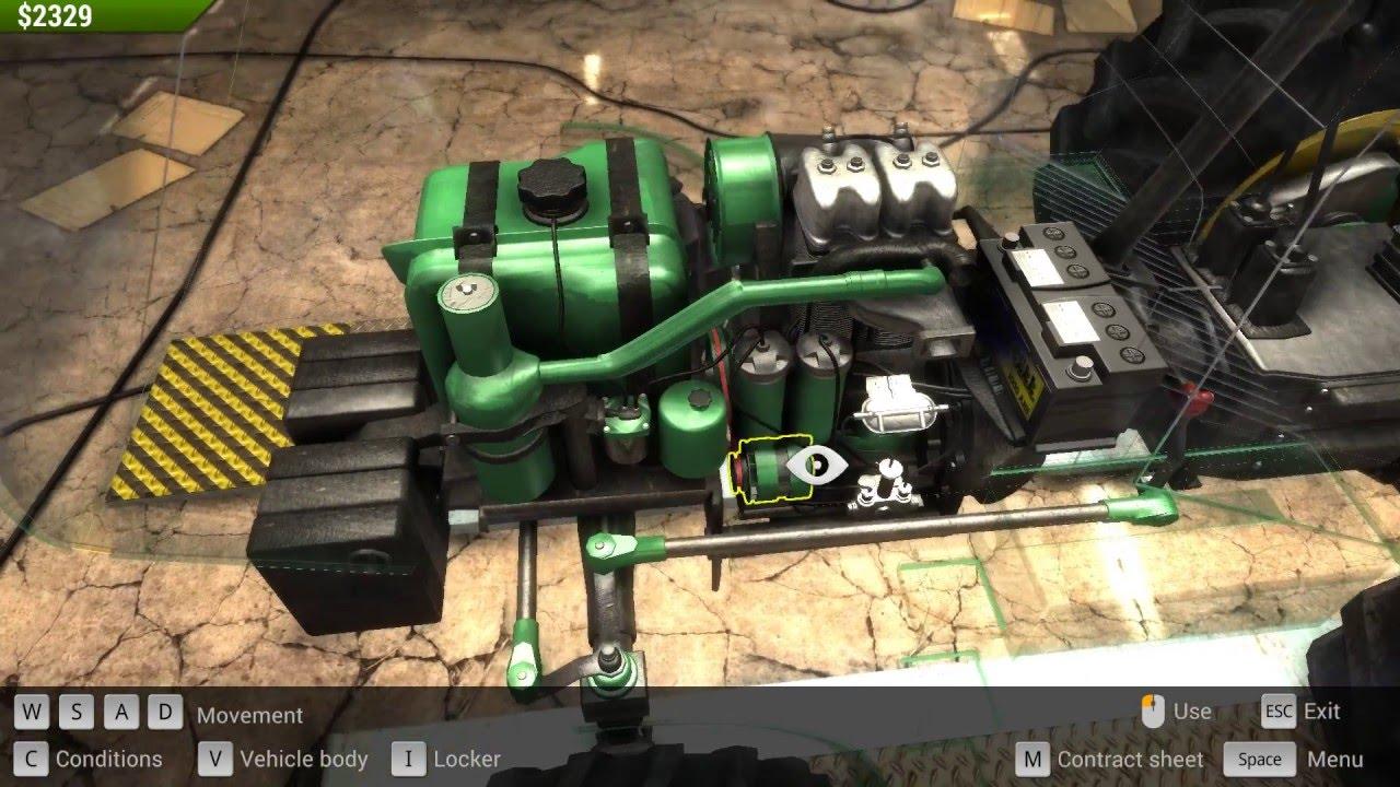 Car mechanic simulator 2015 can change oil pan