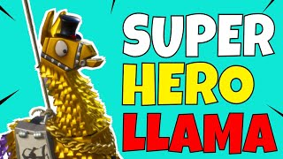 RNG GODS PLEASE! SUPER HERO LLAMA W/ROAD TRIP LLAMAS - Fortnite Save The World