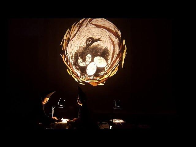 【央廣新聞】加拿大創意影偶戲「烏鴉怎麼了」 來台巡演