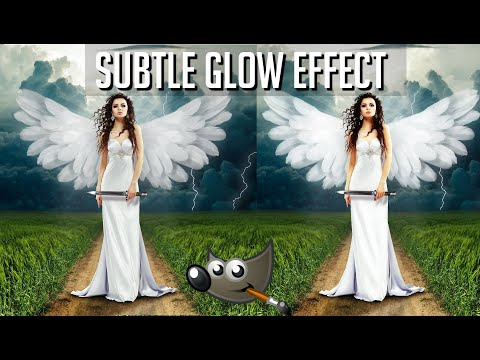 Subtle Angel Glow Effect - GIMP Tutorial thumbnail