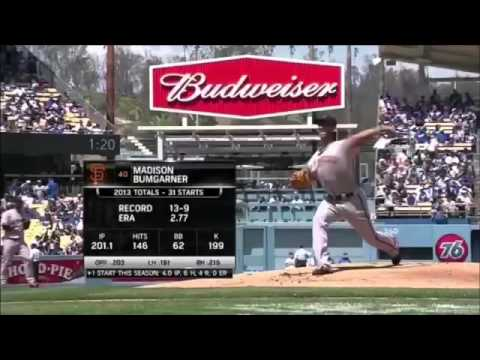 Clapton Kershaw vs Madison bumgarner