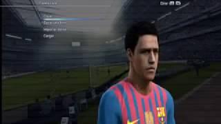 PES 2012-FC BARCELONA FACES Thumbnail