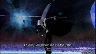 Dissidia 012: Duodecim Final Fantasy - vs. Sephiroth Encounter Quotes