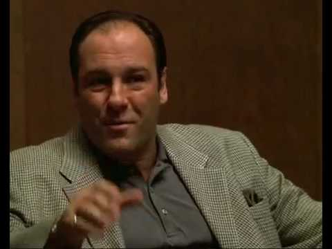 ''motherfucking cocksucking money'' Tony Soprano