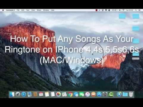 IOS 9.3.2 : How to set Any songs as an iPhone ringtone