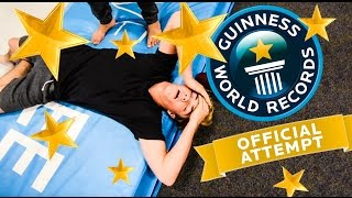BREAKING WORLD RECORDS: 100 BACKFLIP TO FRONTFLIPS IN A ROW!!!