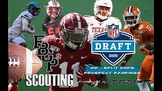 Football Gameplan's 2020 NFL Draft Prospect Rankings: (WR) Split Ends