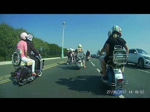 Brighton mod weekend rideout 2017