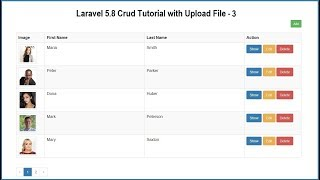 Laravel 5.8 Crud Tutorial with Upload File - 3