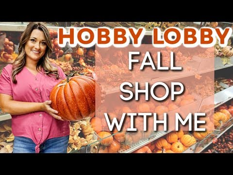 WHAT'S NEW AT HOBBY LOBBY? | FALL 2019 SHOP WITH ME | Cook Clean And Repeat