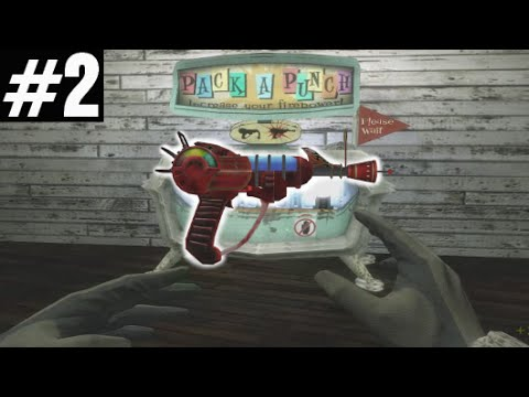 "DOUBLE PACK-A-PUNCH RAY GUN ""Call of Duty Zombies"" FARMHOUSE #2 Custom Zombies Survival"