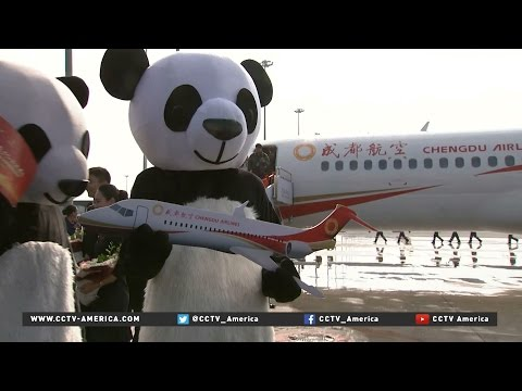 Aviation in China takes off with first domestically-designed regional jet