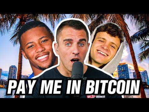 Saquon Barkley Told Hulu, Pepsi, etc To Pay Me In BITCOIN