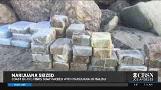 Marijuana-Smuggling Boat Beaches In Malibu