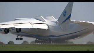 Самая тяжелая авиация в мире! Антонов Ан-225 Мрия Потрясающий Взлет