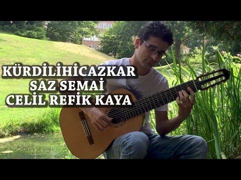 Kürdilihicazkar Saz Semai - Microtonal Guitar - Celil Refik Kaya