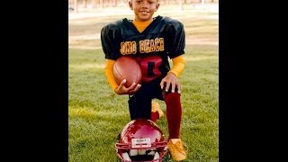 7 Year Old Anthony Robinson - 2010 Football Highlights