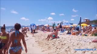Costa Rei (Muravera, Sud Sardegna)  regina delle vacanze estive sarde  - 2 settembre 2018