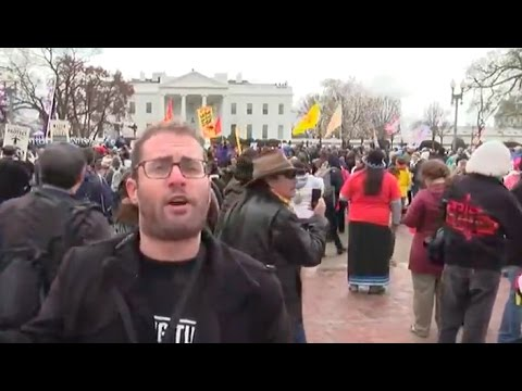 Native Nations STORM Front Of White House