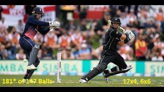 vuclip Ross Taylor's 181* Runs of 147 Balls (Amazing Century) ENGvsNZ, 4th ODI - twitter HIGHLIGHT
