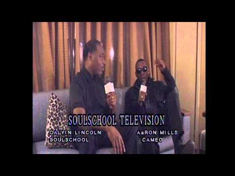 Soul School Interview w/Aaron Mills of Cameo - Pt. 1