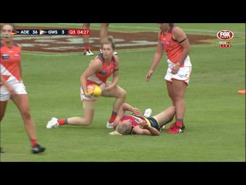AFLW Highlights - Adelaide v GWS Giants