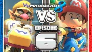 BLUE SHELL BLUNDERS Mario Kart 8 Online Team Races - Ep 6 w/ TheKingNappy + Friends!