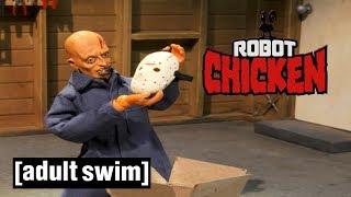 Robot Chicken | Jason Voorhees: Behind the Mask | Adult Swim UK 🇬🇧