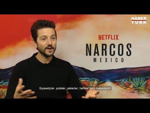 Netflix dizisi Narcos'un dördüncü sezon oyuncularından Diego Luna ile röportaj