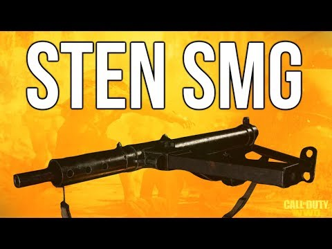 WW2 In Depth: Sten SMG Review (Call of Duty: WWII)