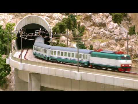 Explore the fantastic model trains and locomotives of the wo