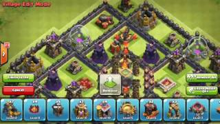 TH10 Dark Elixir Hoarding/Farming Base (After Update 275 Walls) Clash Of Clans
