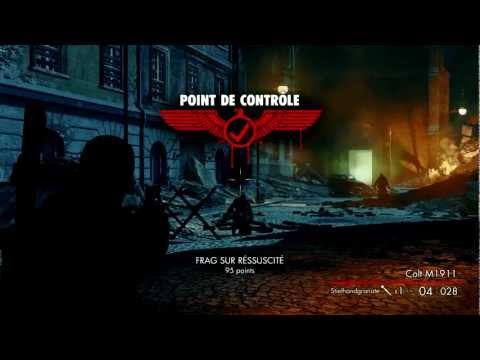 Sniper Elite Nazi Zombie Army - Test Game Play - Overdoz |