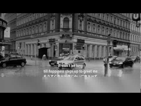 雨に濡れても訳詞付 - YouTube