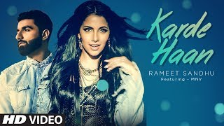 KARDE HAAN Video Song Rameet Sandhu MNV New Song 2019