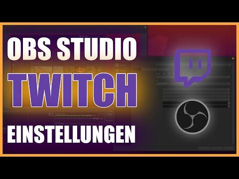 OBS Studio EINSTELLUNGEN