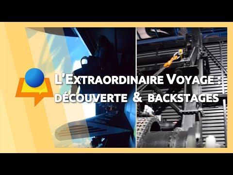 «L'Extraordinaire Voyage» au Futuroscope : découverte de l'attraction...