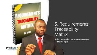Key Project Management / PMP Exam Instruments #5 - Requirements Traceability Matrix