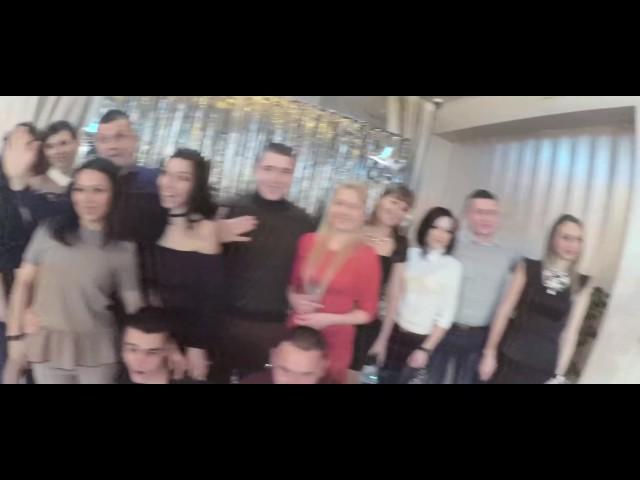 Новогодний корпоратив для компании ЛОТО, ресторан Атлантик, Одесса
