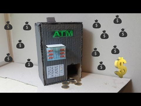 ATM Yapımı - Otomatik Para Makinesi Yapımı (Bankamatik)