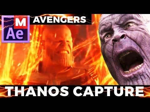 Thanos Destruction Effect | Avengers Infinity War | After Effects