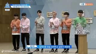 [ENG SUB] Produce 101 EP 3 Kang Daniel & Sorry Sorry Team 2 Full Cut