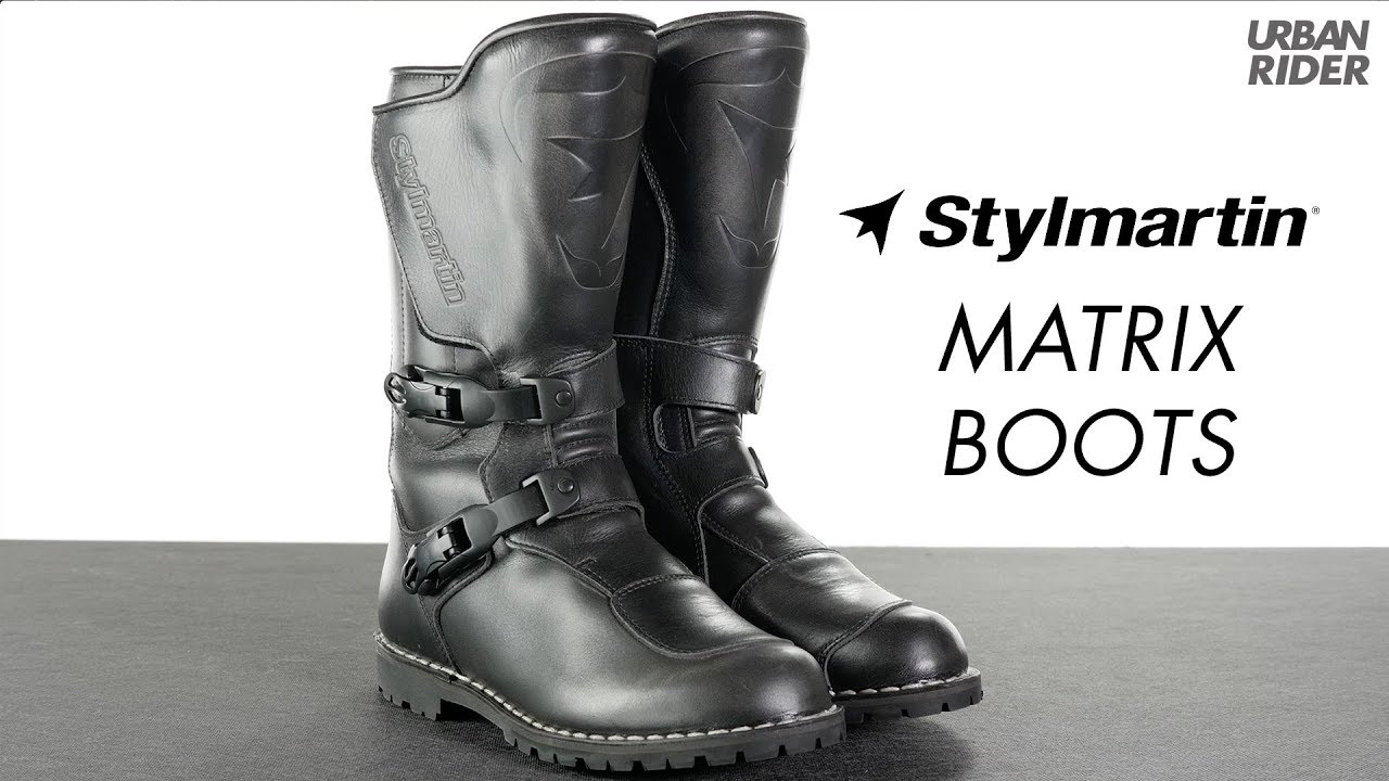 Stylmartin Matrix Motorcycle Boots review - YouTube 1f33d902f