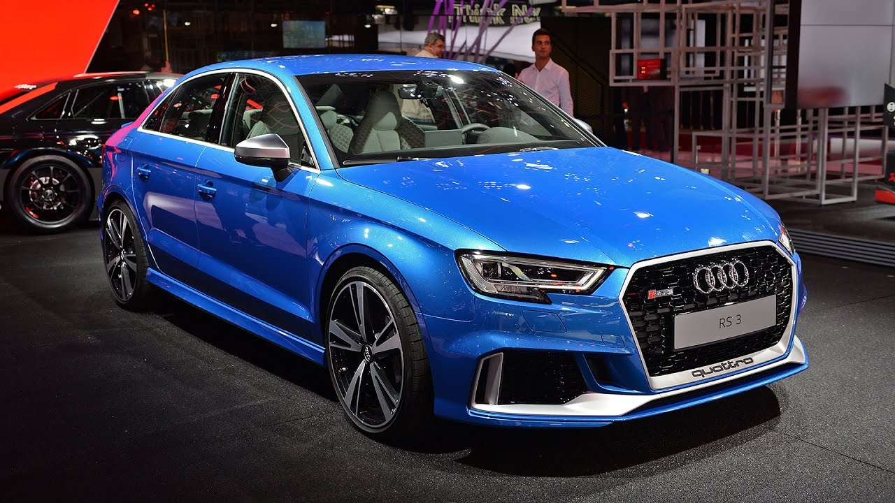 2018 Audi Rs3 Sedan 400 Hp Interior And Exterior Youtube