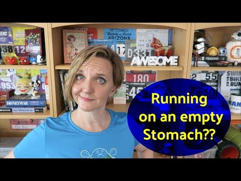 WHY RUN ON AN EMPTY STOMACH?